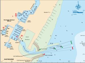 Karte EASTBOURNE
